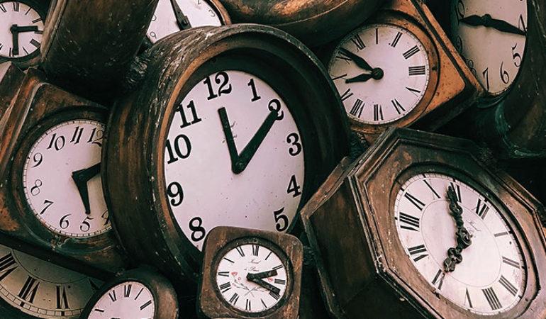 Ένα παραμύθι για τη διαταραγμένη σχέση με το Χρόνο